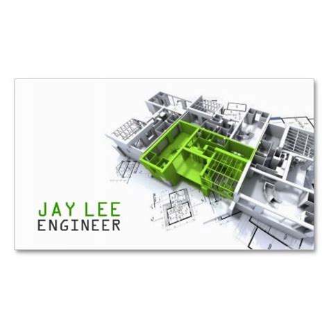 engineering business cards templates 149 best architects business cards images on