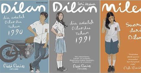 Paket 3 Novel Dilan Dilan 1990 Dilan 1991 Dan Milea novel dilan 1991 ebook baru
