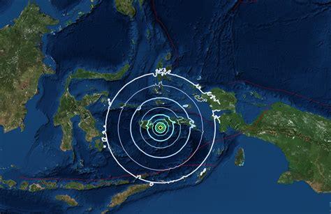 earthquake tangerang strong earthquake of 6 3 magnitude hits ambon coconuts