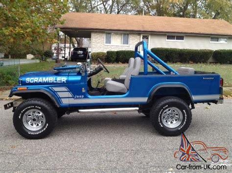 1981 Jeep Scrambler 1981 Jeep Scrambler Cj8 Cj 8
