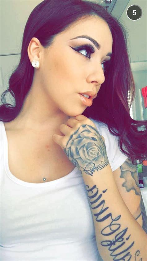 tattoo girl snapchat 25 best images about salicerose on pinterest makeup