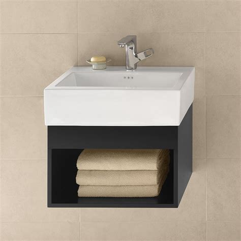 double sink wall mounted vanity wall mount vanity modern bathroom designed with concrete