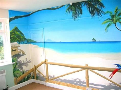 beach murals for bedrooms 17 best images about murals on pinterest beach theme bedrooms bathroom mural and