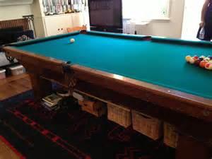 brunswick wellington pool table for sale