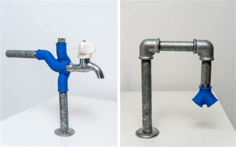 Water Plumbing by 3ders Org 3d Printed Bypass Components Add Flexibilities