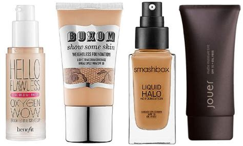 Best Light Foundation by The Best Lightweight Foundations To Glow Through Summer