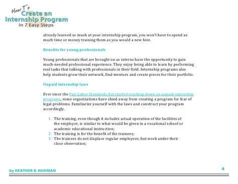 find an intern how to create an internship program in 7 easy steps