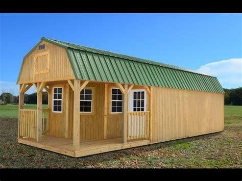 Loft Cabin Floor Plans 12x30 deluxe lofted barn cabin sketchup model youtube