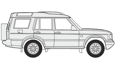 range rover sketch how to draw a land rover discovery 5 как нарисовать land