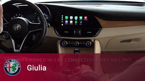 alfa romeo giulia quadrifoglio apple carplay alfa romeo giulia apple carplay integration for iphone