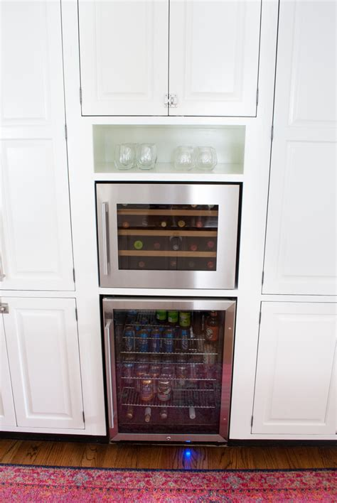 built in wine cooler simple tutorial to make a diy built - Built In Wine