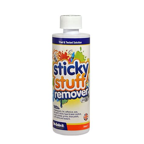 The Sticky Factor 2 by De Solv It Sticky Stuff Remover Liquid 250ml At Homebase