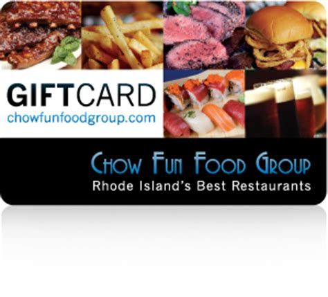 E Gift Cards Food - gift cards luxe burger bar providence ri chow fun food group