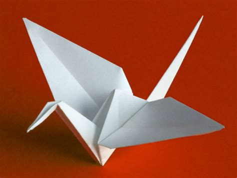 Original Origami - make origami peace cranes 05 29 14