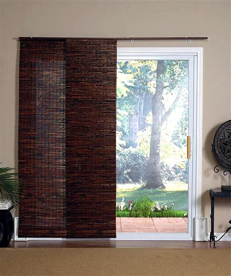 Sliding Panel Blinds For Sliding Glass Door Sliding Door Blinds Irepairhome