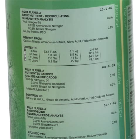 House And Garden Nutrients by Aqua Flakes By House Garden