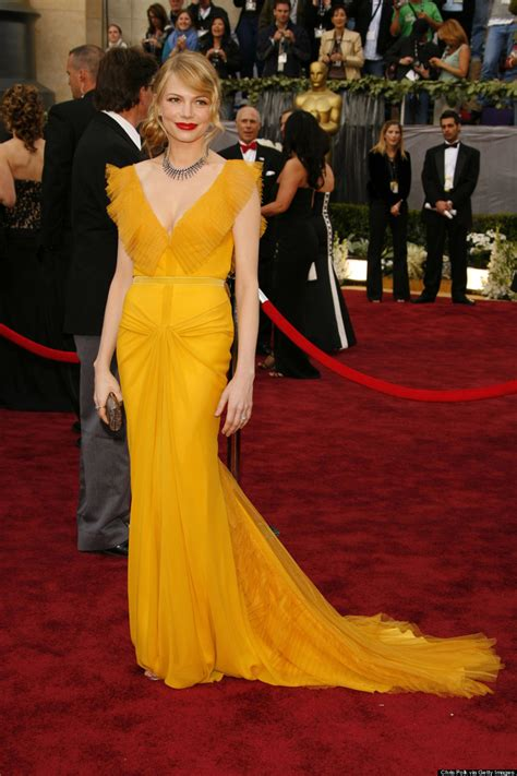 Dresses Ruled At The Oscars Get The Look For Less by S Yellow Amazing Spider 2 Versace Dress