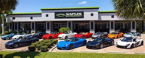 Car Dealerships Port St Fl by Naples Motorsports Inc Cars Naples Fl