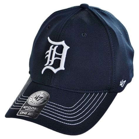 47 brand detroit tigers mlb gt closer fitted baseball cap