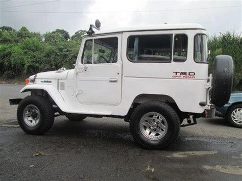 1980 Toyota Diesel Purchase Used 1980 Fj40 Bj40 Toyota Land Cruiser Diesel