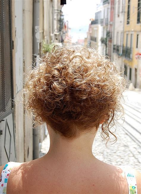 haircuts for curly hair back view back view of short curly hairstyle hairstyles weekly