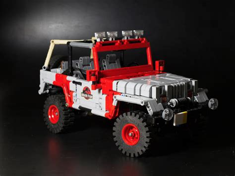 jurassic jeep lego jurassic jeep the lego car