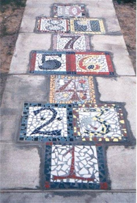 tiling pattern games how to layout a hopscotch tile pattern our pastimes