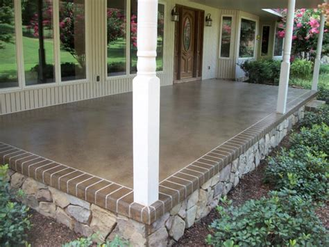 Outside Mats For Porch by Outdoor Porch Flooring Concrete How To Choose Types
