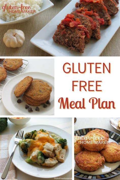 free gluten free meal plans side effects caffeine