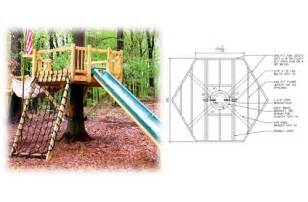 Treehouse plan standard treehouse plans amp attachment hardware