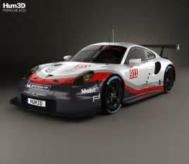 Porsche Rsr Porsche 911 991 Rsr 2017 3d Model Hum3d