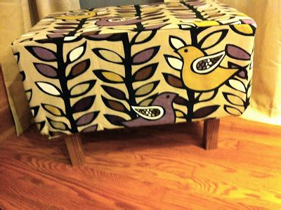 how to an ottoman from scratch decorella diy ottoman from scratch