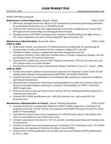 aircraft maintenance and quality assurance resume