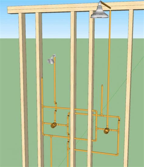 two shower heads pretty shower valves and heads ideas bathtub for