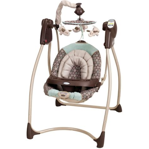plug in infant swing graco lovin hug infant swing capri