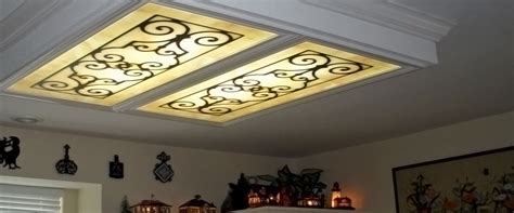 kitchen light cover fluorescent lighting replacement fluorescent light covers