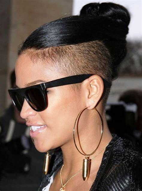 mohawk hairstyles ll eaving hair long at back of head 50 mohawk hairstyles for black women long hair buns