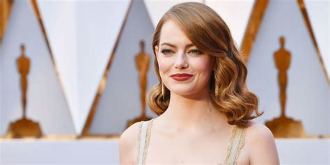 emma stone education quot there s no preparation at all you learn by doing quot what