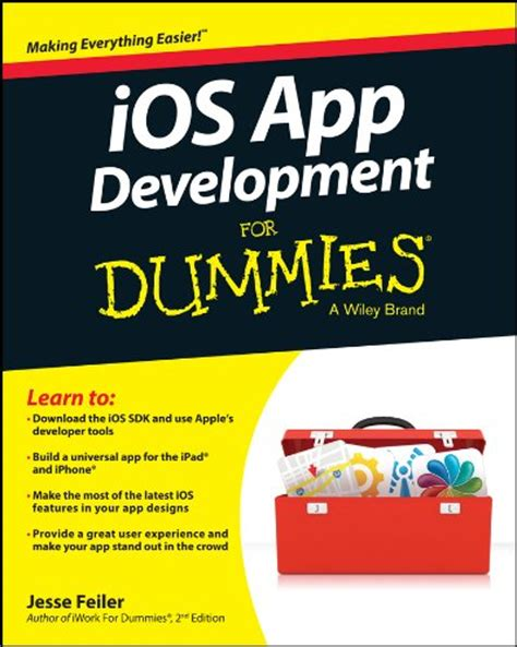 App Design Dummies | 5 books to help you become an ios app developer iphone