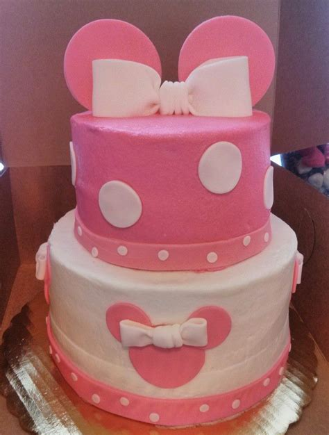 Minnie Mouse Baby Shower Cake by Minnie Mouse Baby Shower Cake The Bakeshop