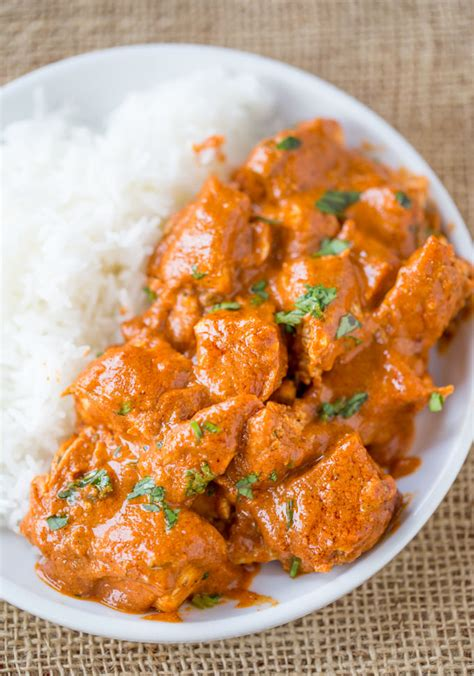 How To Make Kitchen Cabinet by Slow Cooker Indian Butter Chicken Recipe Dinner Then Dessert