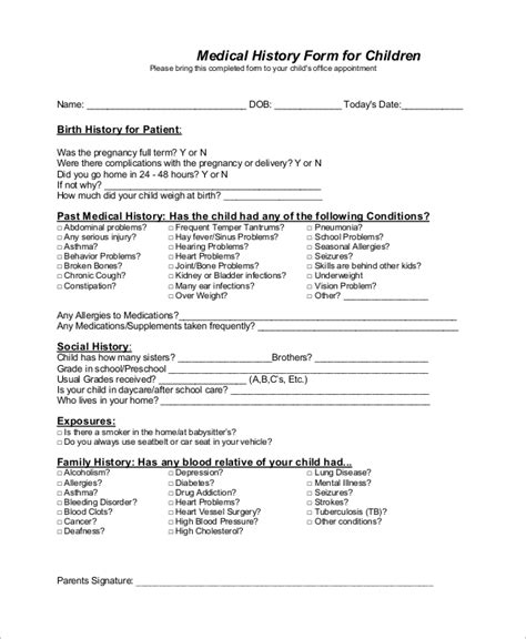 Excuse Letter Allergy School Form Form 09 10 Physical