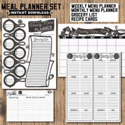 family dinner menu template the 25 best monthly menu planner ideas on