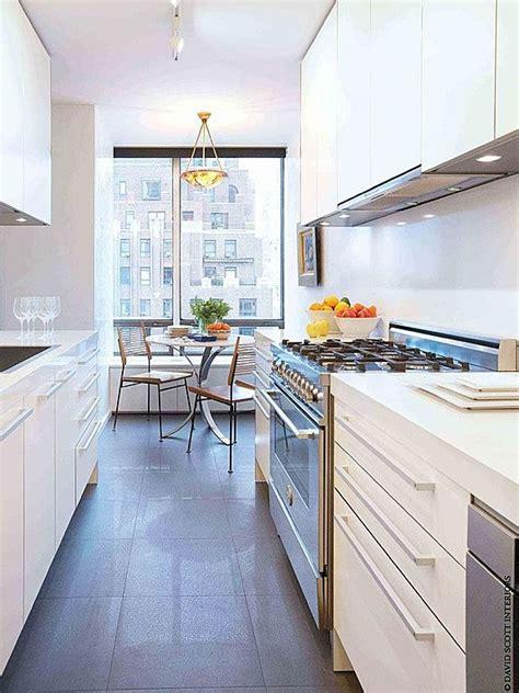 modern galley kitchen white modern galley kitchen great kitchens