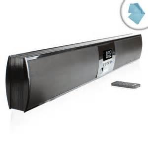 Bar Speakers High Fidelity Ultraslim Bluetooth Wireless Tv Sound Bar