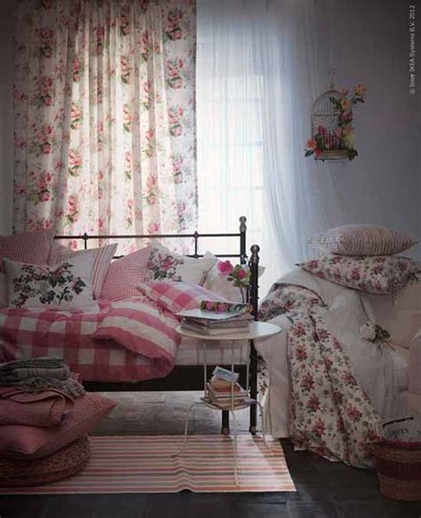 Ikea Textiles Curtains Decorating New Decorating Fabrics From Ikea Striped Fabrics And Floral Designs For Decorating