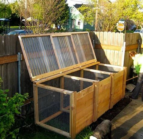 backyard composting bin 12 creative diy compost bin ideas the garden glove