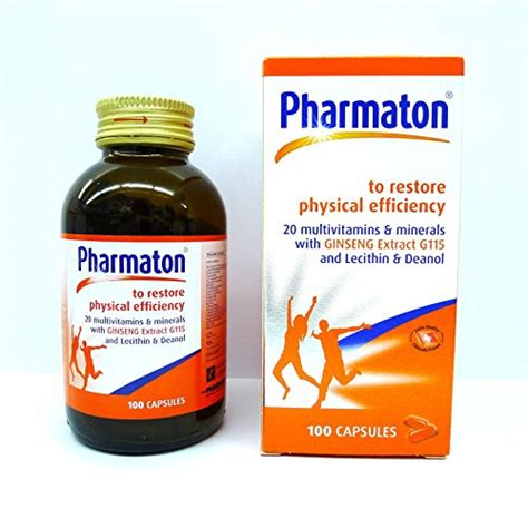 Pharmaton Ginseng pharmaton 20 multivitamins minerals with ginseng g115