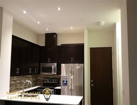 Kitchen Lighting Toronto by Pot Light Installation Pot Lights Toronto