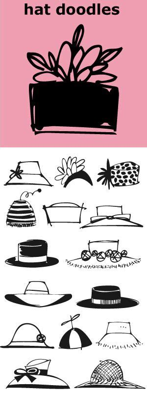 Doodle Hat B hat doodles from silly to sophisticated a collection of